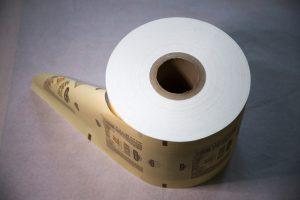 Пример полимерной бумаг и FPO-PE с логотипом