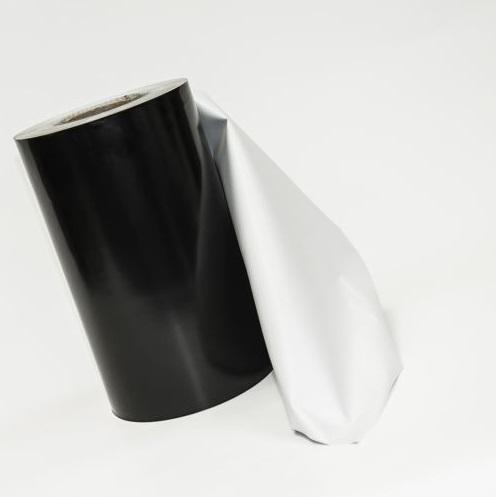 Черное белая молочная пленка
